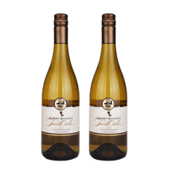 13.5°美国蒙大菲双橡园霞多丽2013白葡萄酒750ml(双支装)