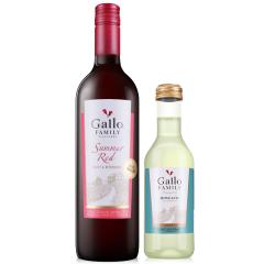 美国嘉露家族庄园夏日红葡萄酒甜红葡萄酒 750ml