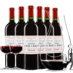 (列级庄·名庄·正牌)法国原瓶进口靓茨伯酒庄2010干红葡萄酒6支整箱装750ml*6
