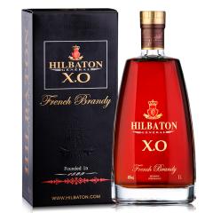 【买1送1】40°法国原装进口 希伯顿·上将XO白兰地礼盒装1L