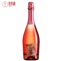 甜蜜极冰甜桃红起泡葡萄酒750ml