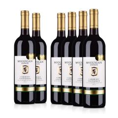 澳大利亚整箱红酒麦格根.庄园赤霞珠红葡萄酒750ml(6瓶装)