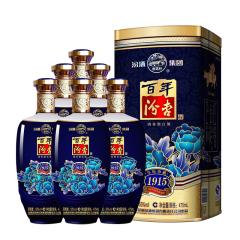 53°杏花村汾酒集团(百年汾杏1915)白酒475ml(6瓶装)