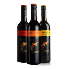 澳大利亚原装进口红酒 黄尾袋鼠西拉/梅洛/加本力苏维翁葡萄酒