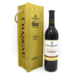 张裕1892纪念干红葡萄酒750ml