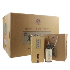 50°迎春酒贵宾私藏酱香型白酒500ml(6瓶装)