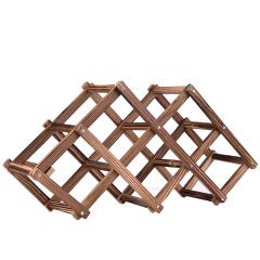 6支折叠酒架