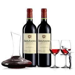 醉梦红酒 拉菲原瓶进口红酒 巴斯克理德干红葡萄酒双支