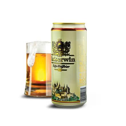 5.1°德国凯撒啤酒黑啤950ml