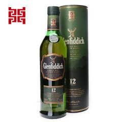 格兰菲迪12年单一纯麦威士忌700ml