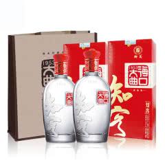 52°海口大曲知客白酒500ml 浓香型(2瓶)