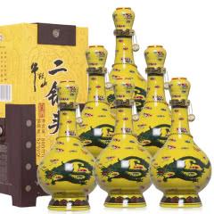 52°牛栏山经典二锅头黄龙500ml(6瓶装)整箱