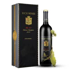 Rich Wines BIN169 百年老藤葡萄酒 原瓶进口红酒赤霞珠干红 高档礼盒装