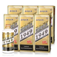 52°贵州茅台镇 利波 1949原浆封坛酒 500ml(6瓶装)