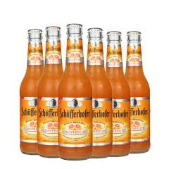 德国进口啤酒星琥西柚小麦啤酒配制酒果味啤酒330ml(6瓶)