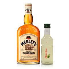 40°美国·万德利·肯塔基纯正波本威士忌700ml+16°德国百人城青苹果酒(乐享)100ml