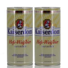 德国啤酒Kaiserdom凯撒白啤1000ml*2