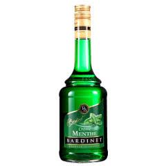25度 法国必得利(Bardinet)原瓶原装进口洋酒绿薄荷味力娇酒 700mL