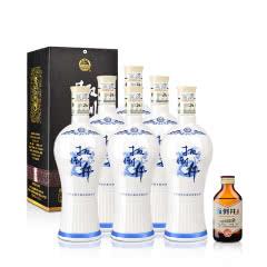 38°扳倒井青花瓷700ml(6瓶装)+42°扳倒井酒头酒100ml