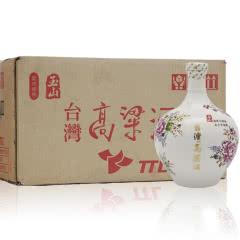 【2014年老酒】58°台湾玉山高粱酒(客家花布)三年陈高台湾白酒600ml整箱(6瓶装)