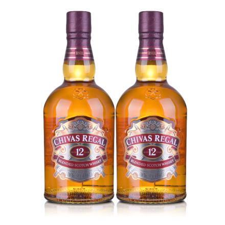 40°芝华士12年苏格兰威士忌700ml(双瓶装)