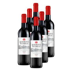 奔富洛神山庄西拉干红葡萄酒750ml  6支装