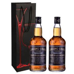 40°狮王威士忌洋酒700ml*2瓶+礼袋*1