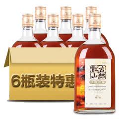 绍兴黄酒古越龙山清纯黄酒清醇三年半甜型黄酒500ml*6整箱特惠