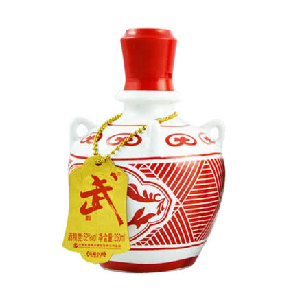 52°武酒坛藏小酒浓香型白酒250ml