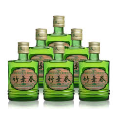 38°山西杏花村汾酒 竹叶青小酒版125ml(6瓶装)