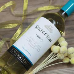 干露酒庄 智选莫斯卡托干白葡萄酒750ml 智利原瓶进口红酒