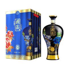 52°泸州御酒国藏30年浓香型白酒大坛1.5L蓝色版