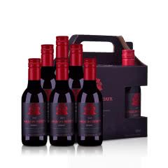 澳大利亚米隆庄园王子系列色拉子红葡萄酒187ml 6支礼盒装