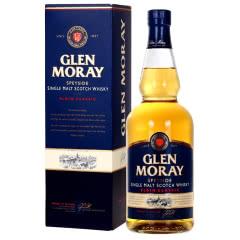 英国原瓶原装进口格兰莫雷(Glen Moray)斯佩塞单一麦芽威士忌洋酒 700mL礼盒