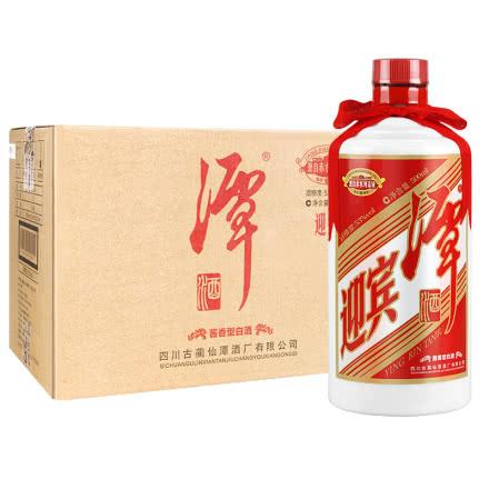 53° 仙潭迎宾潭酒  酱香型白酒 500ml*6