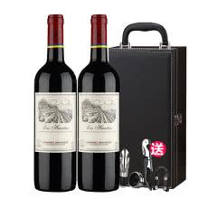 智利红酒 拉菲 进口Lafite巴斯克花园 干红葡萄酒750ML(ASC) 双支礼盒