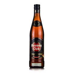 40°哈瓦那俱乐部7年黑朗姆酒750ml