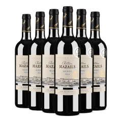 【中级庄】法国原瓶进口红酒麦滋城堡干红葡萄酒750ml*6整箱装