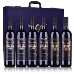 澳大利亚纷赋酒庄黑牌垂直3年份套装750ml*6