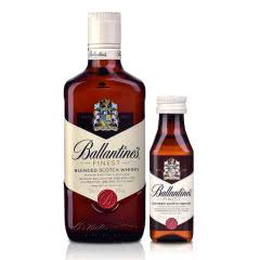 40°英国百龄坛特醇苏格兰威士忌500ml+百龄坛小酒版50ml品酒礼包