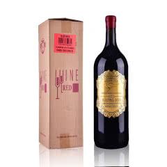 澳大利亚原装进口干红葡萄酒装米爵袋鼠西拉干红婚庆礼品用酒5000ml