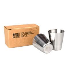 燃点 不锈钢酒杯 30ml*2 盒装