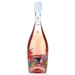 意大利原瓶进口红酒 意大利之花桃红起泡葡萄酒甜型气泡女士酒 750ml单支装