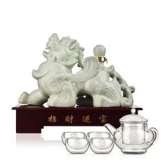 53°汾酒集团招财貔貅2000ml+茶具五件套(酒仙会员专享)