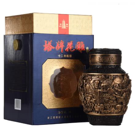 塔牌花雕绍兴酒(十二年陈酿)(2011年)低度1L(4瓶装)