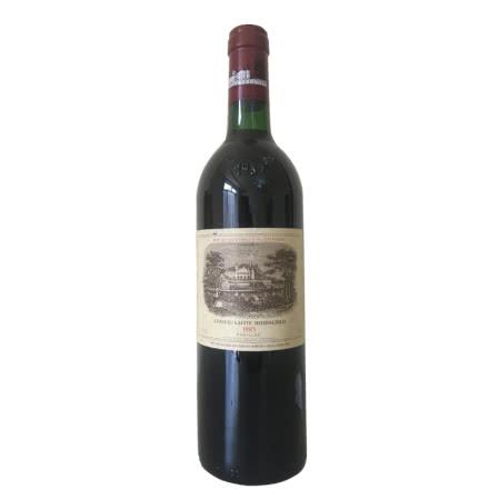 (列级庄·名庄·正牌)法国拉菲酒庄1985干红葡萄酒750ml(又译大拉菲、拉菲城堡)