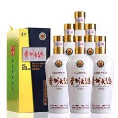 53°贵州大曲70年代500ml酱香型白酒(6瓶)