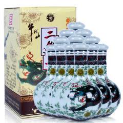 53°牛栏山二锅头珍品三十年清香型白酒125ml(12瓶整箱)
