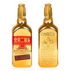 46°北京二锅头(出口型小方瓶)永丰牌清香型白酒500ml(单瓶)