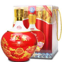 42°白水杜康浓香型坛装白酒悦来悦旺(红)1500ml